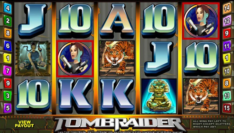 Tomb Raider Slot Bonus