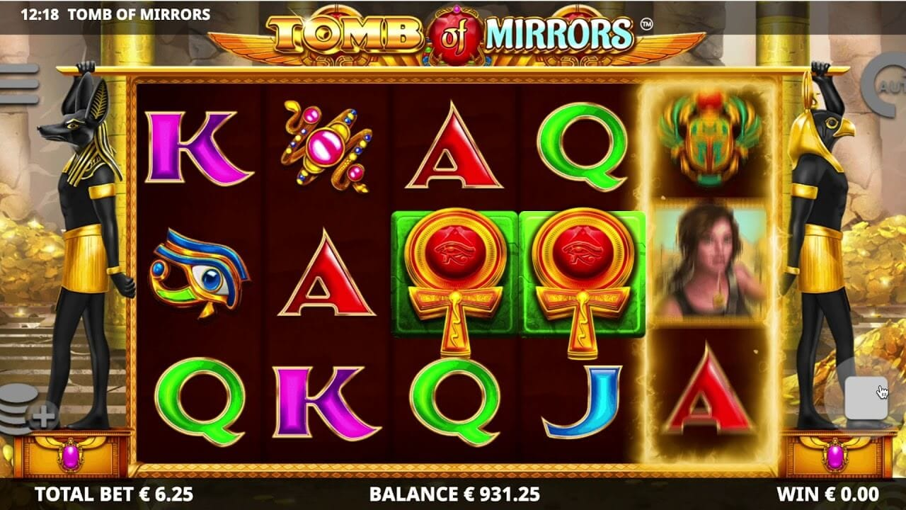 Tomb of Mirrors Slot Gameplay