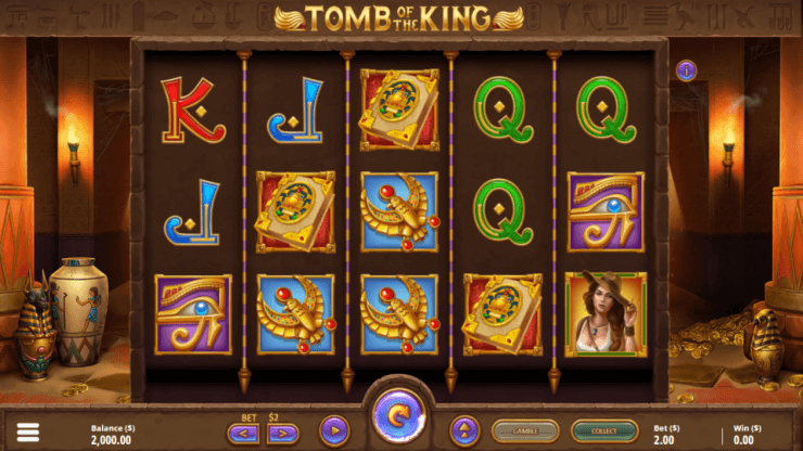 Tomb of the King Slot Gameplay