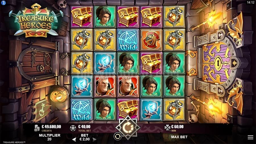 Treasure Heroes Slot Gameplay