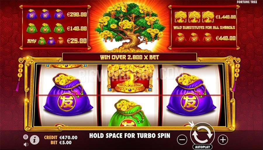 Tree of Riches Slot Bonus