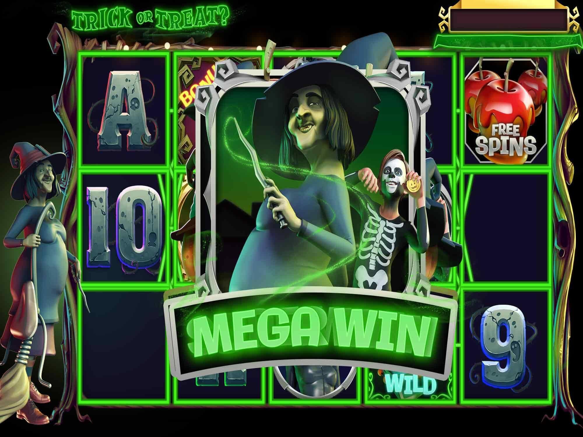 Trick or Treat Slot Bonus