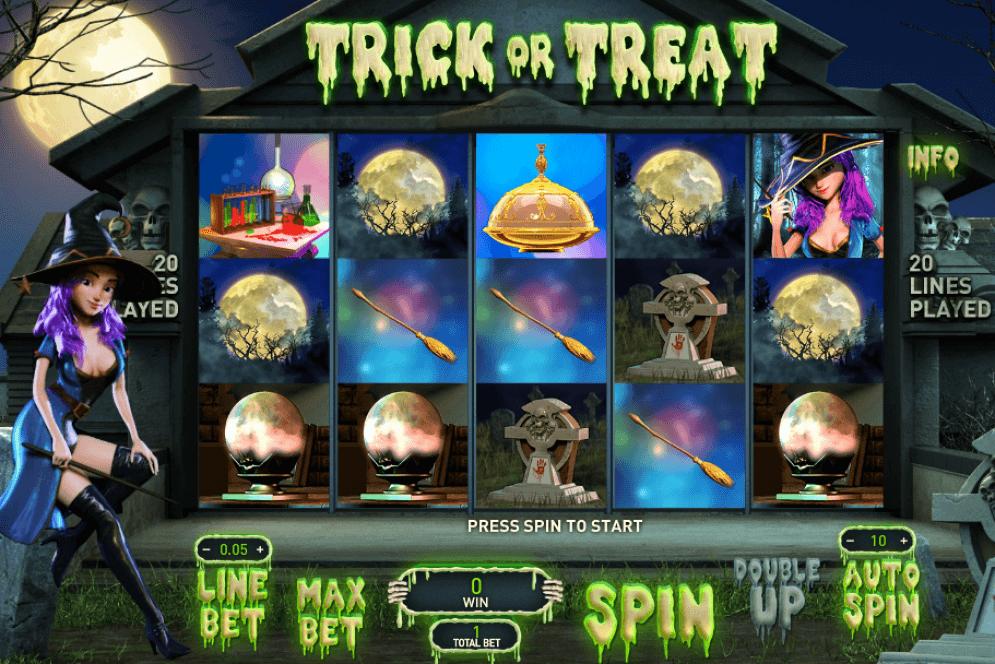 Trick or Treat Slot Gameplay