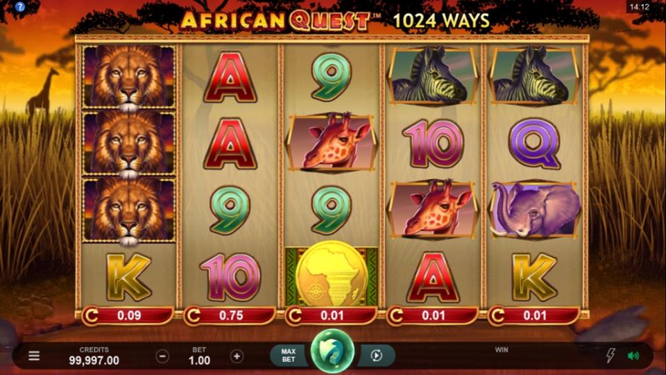 African Quest Slots UK