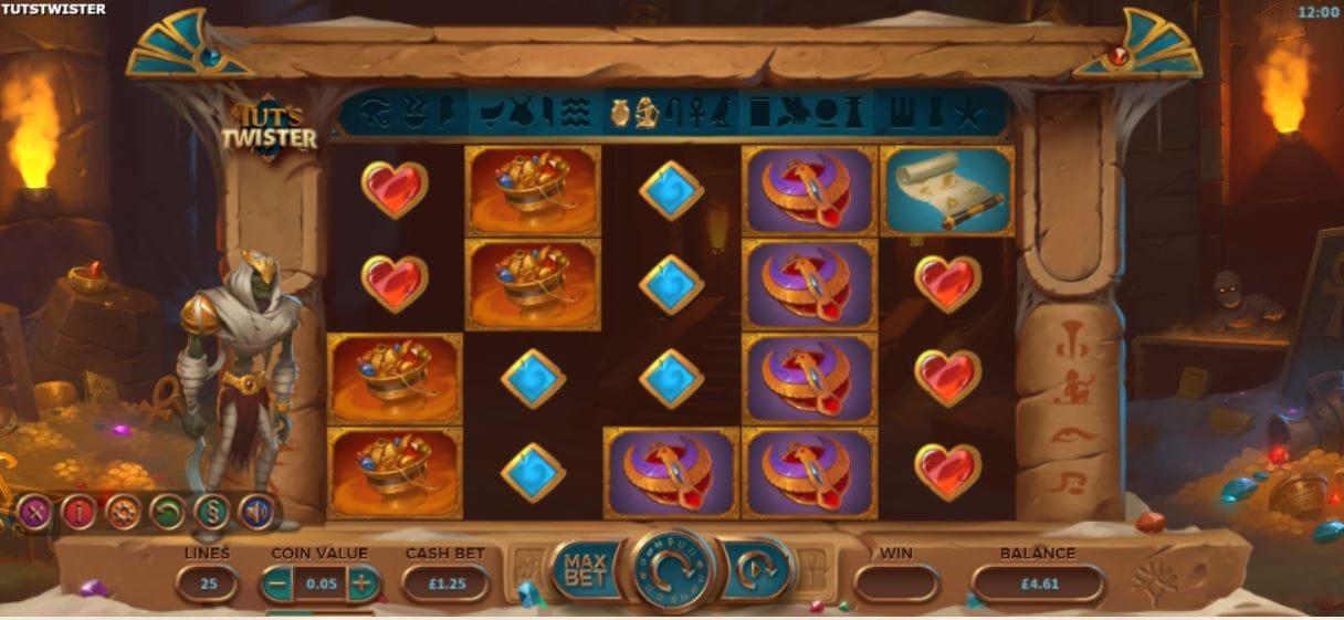 Tut's Twister Screenshot
