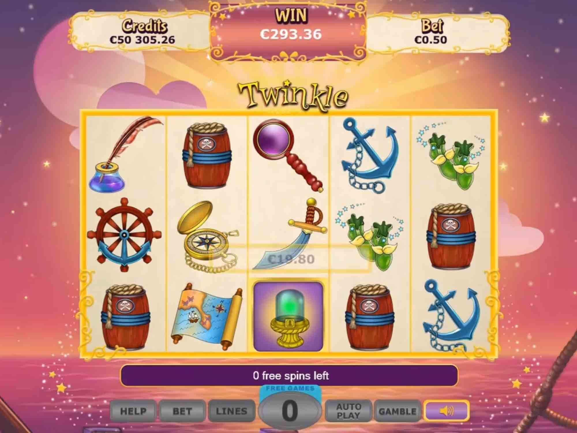 Twinkle Slot Bonus