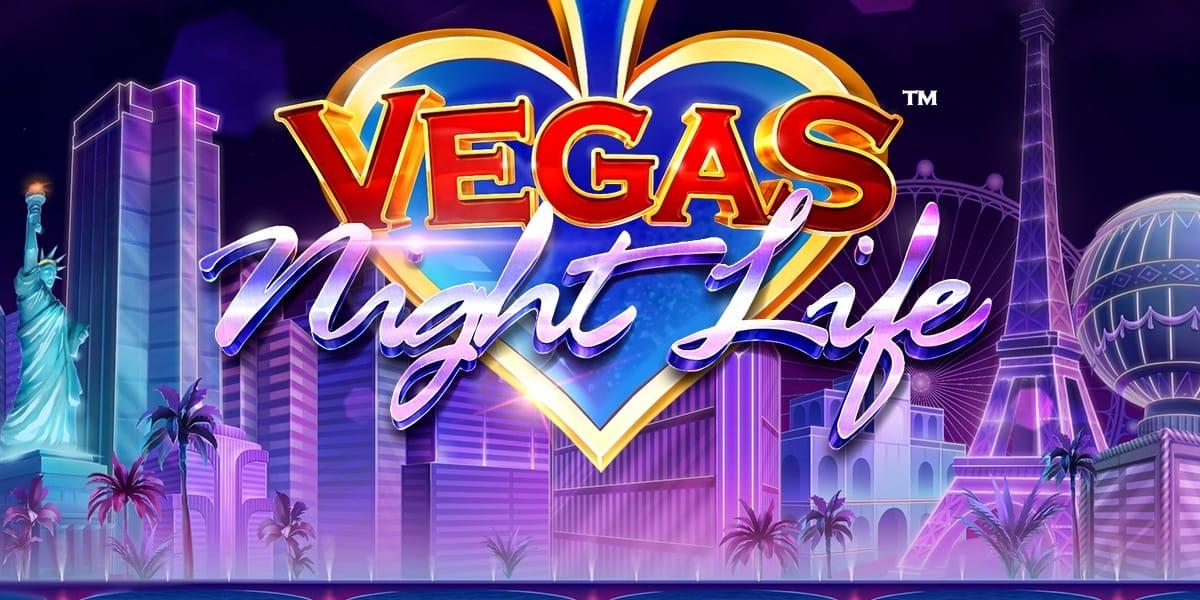 Vegas Night Life Slot Logo Slots Baby