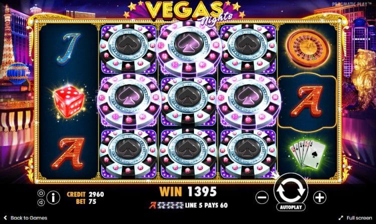 Vegas Night Life Slot Features