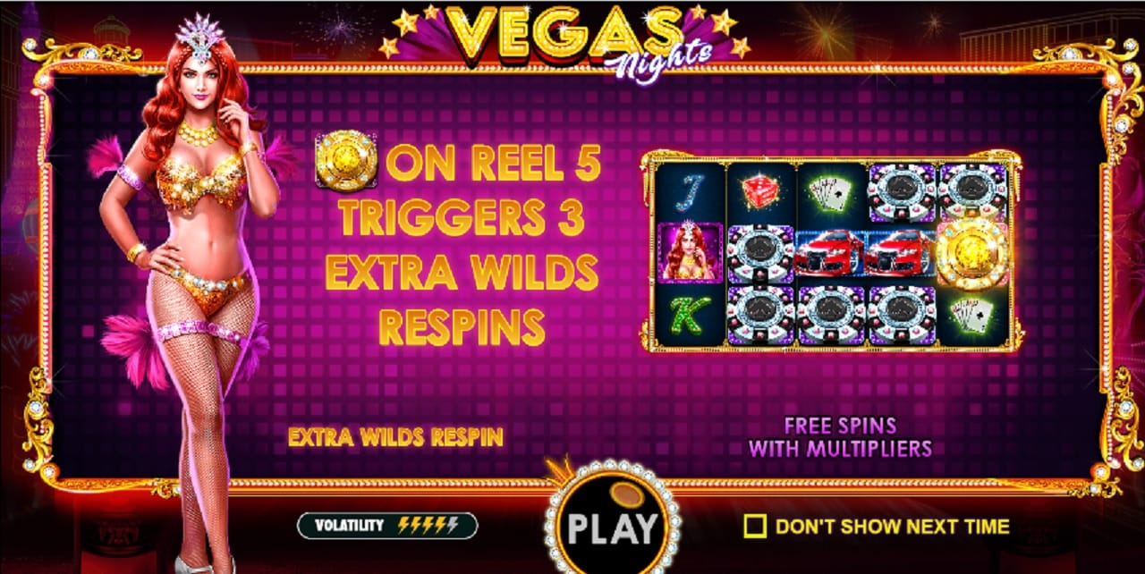 vegas nights free spins