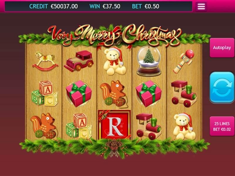 Very Merry Christmas Slot Bonus