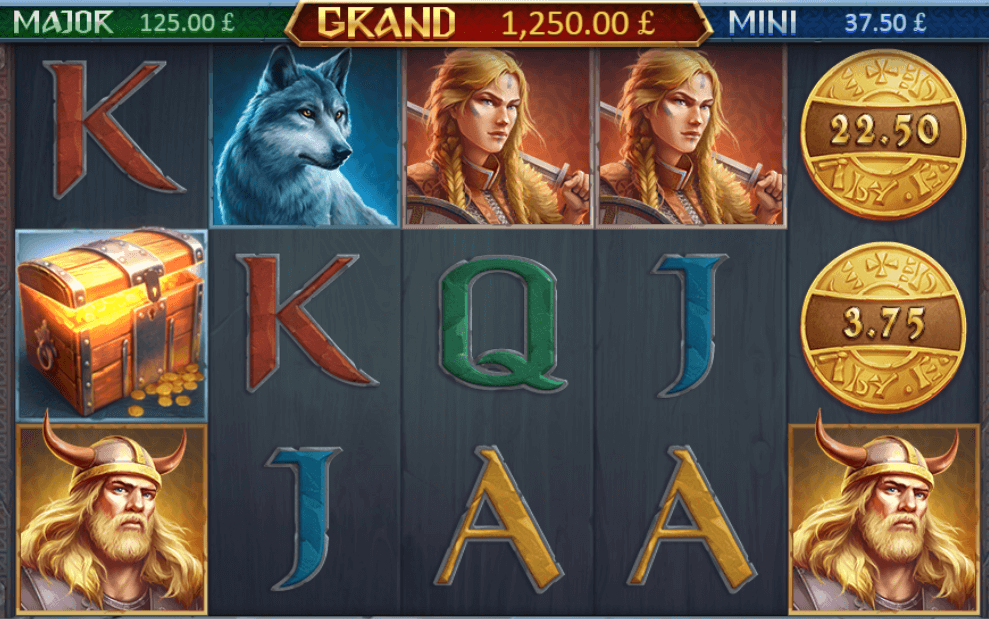 Vikings Fortune Hold and Win Slot Gameplay