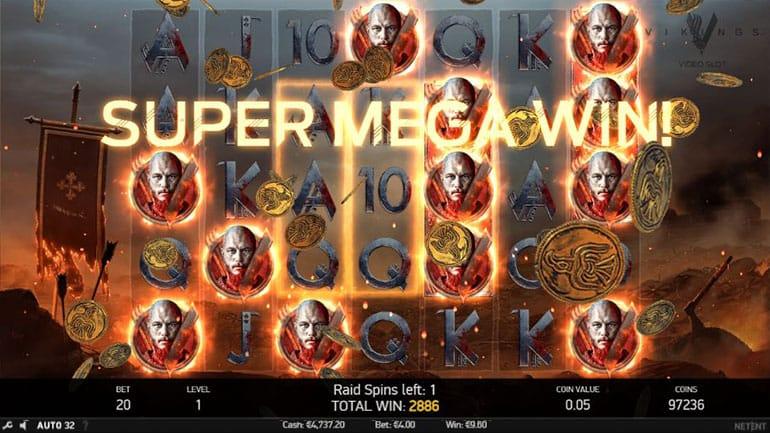 Vikings Slot Gameplay