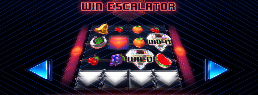 Win Escalator Online Slot - Gameplay