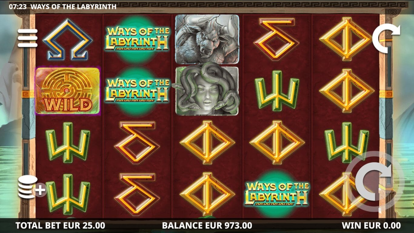Ways Of The Labyrinth Slot Bonus