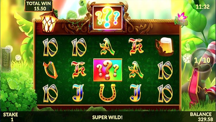 Wild Rover Slot Bonus