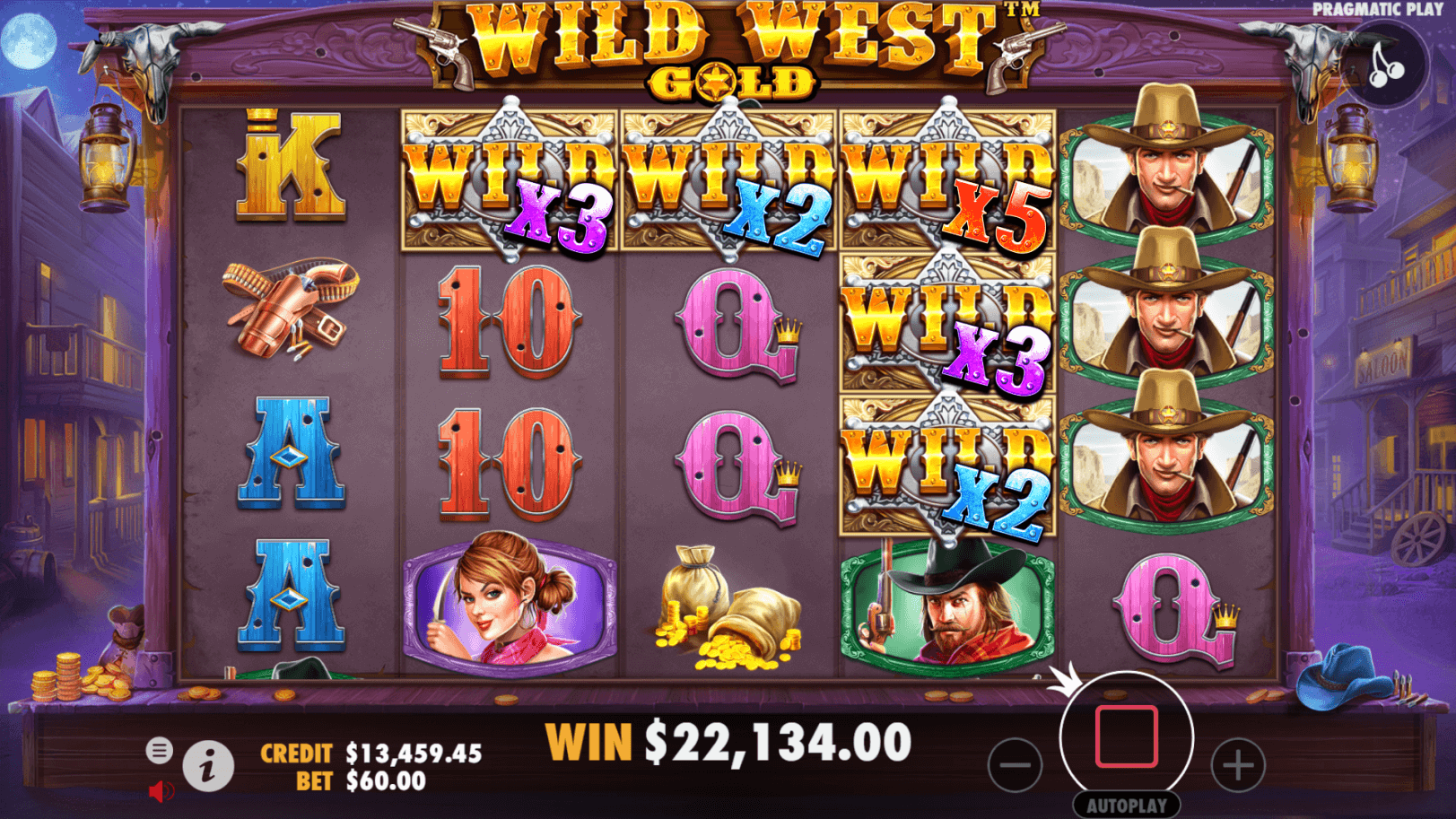 Wild West Gold Slot Bonus