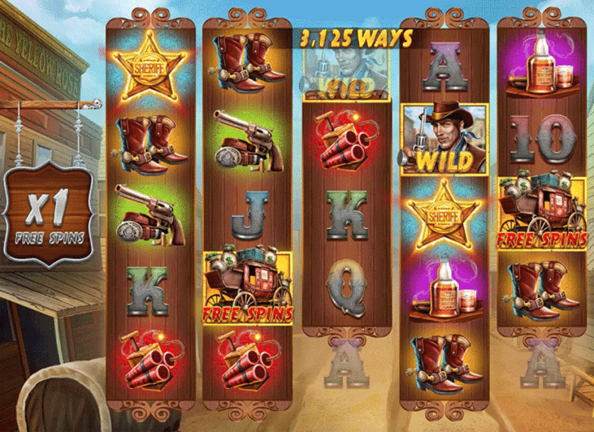 Wild West Zone Slot Gameplay