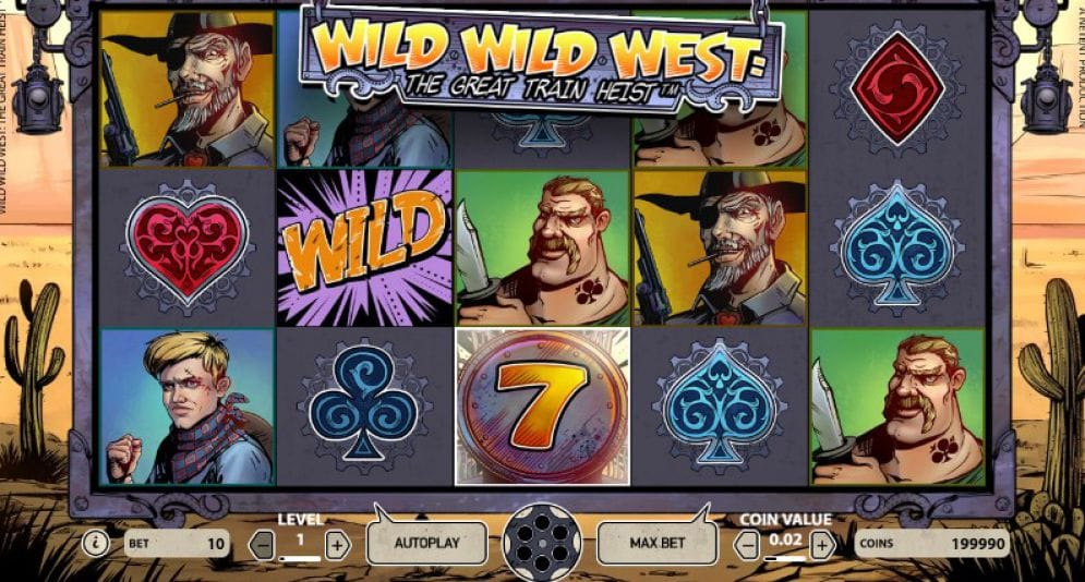 Wild Wild West: The Great Train Heist Gameplay
