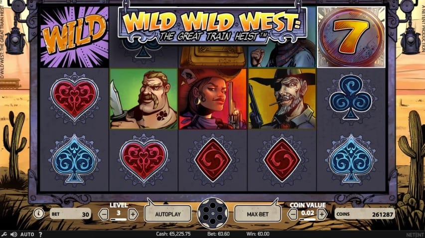 Wild Wild West: The Great Train Heist Screenshot