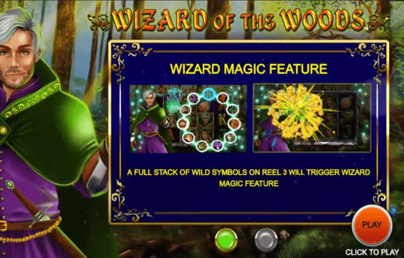 Wizard of the Woods Bonus