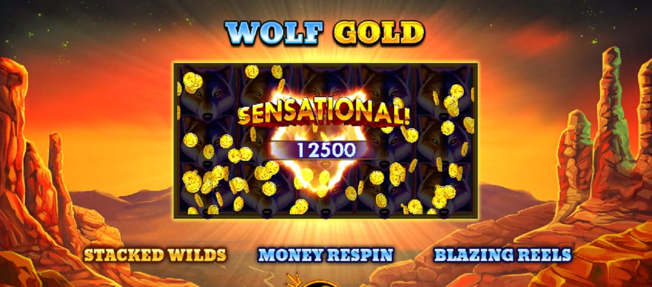 wolf gold win