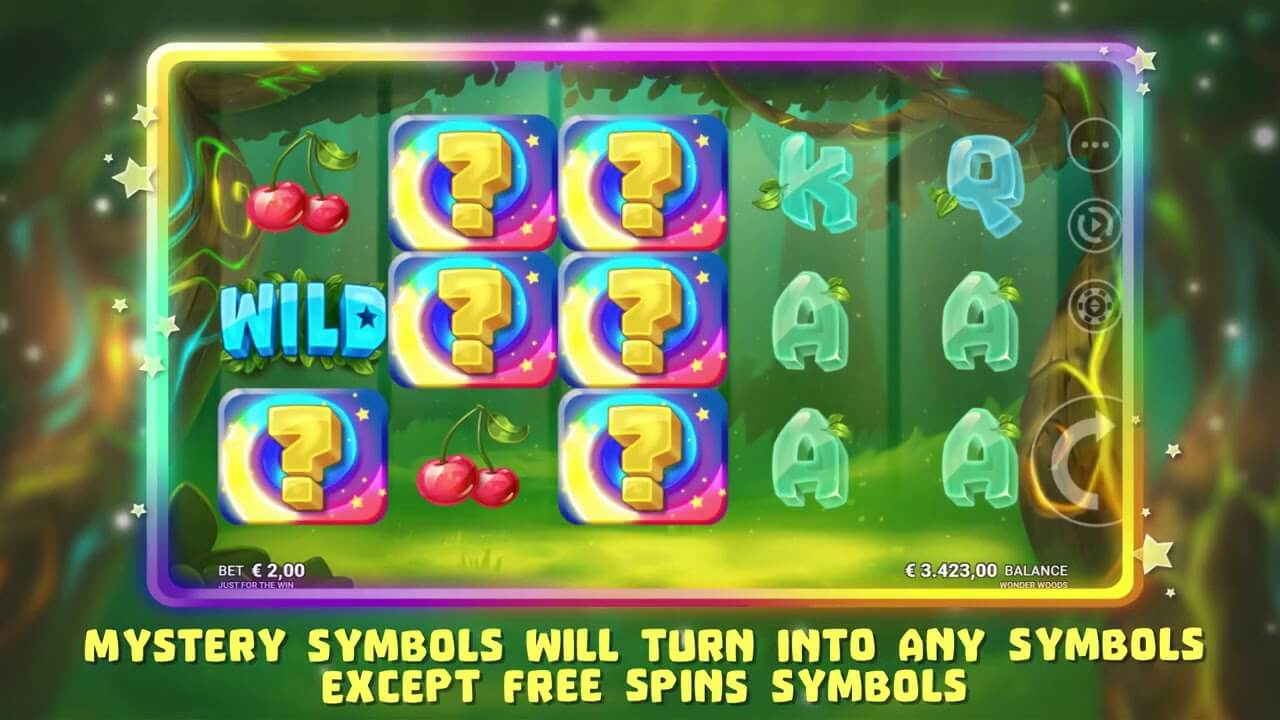 Wonder Woods Slot Gameplay