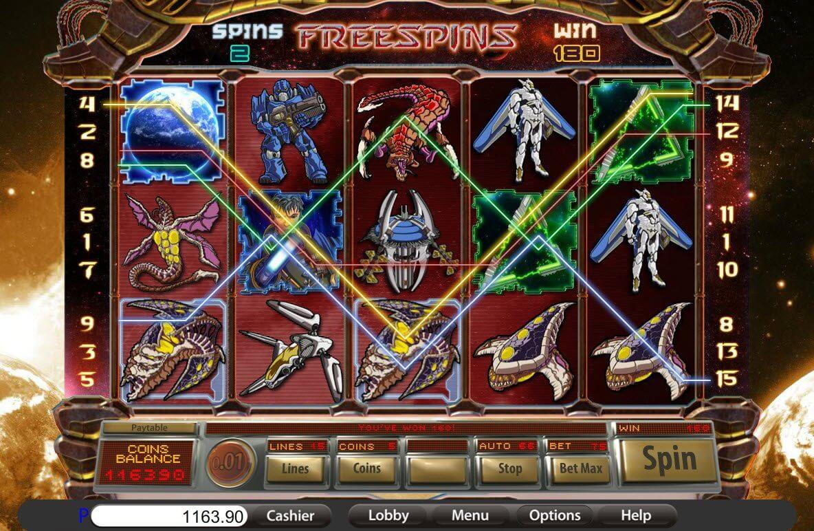 Worlds at War Slot Bonus