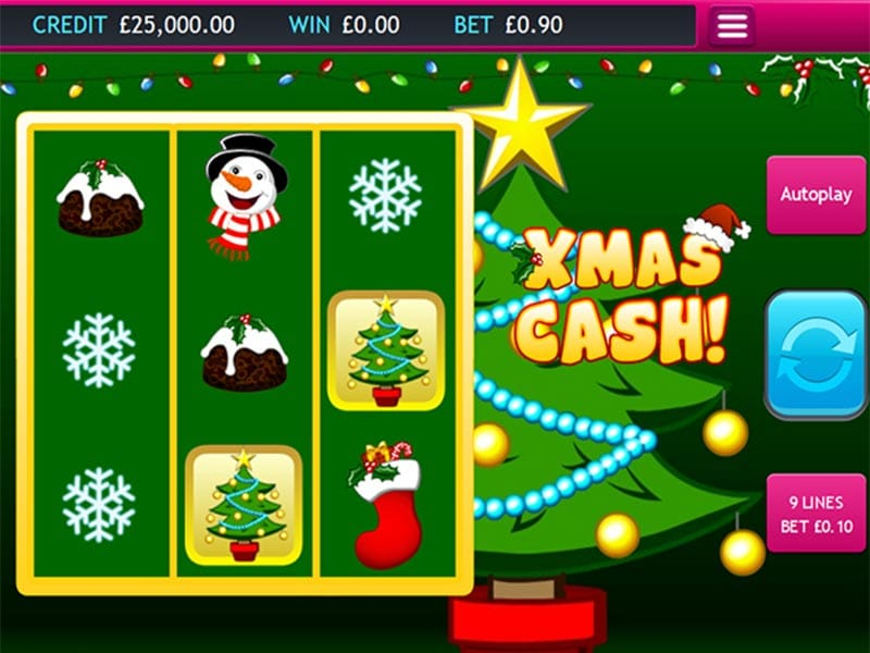 Xmas Cash Gameplay