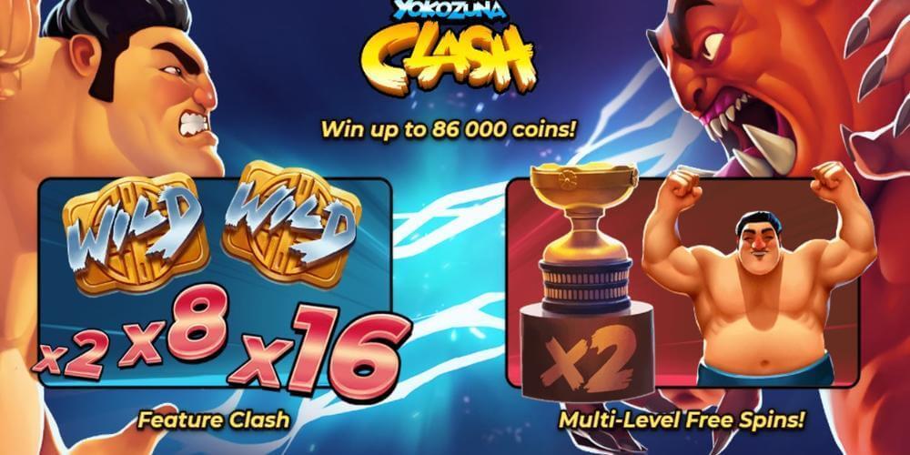 Yokozuna Clash Slot Bonus