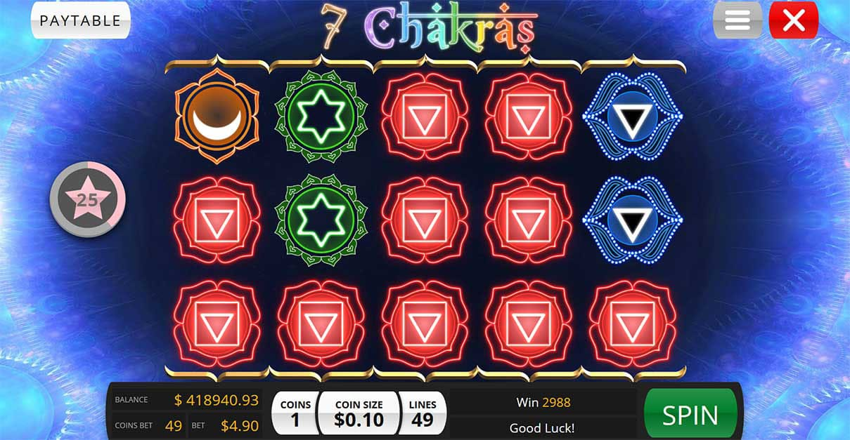 7 Chakras Slot Machine