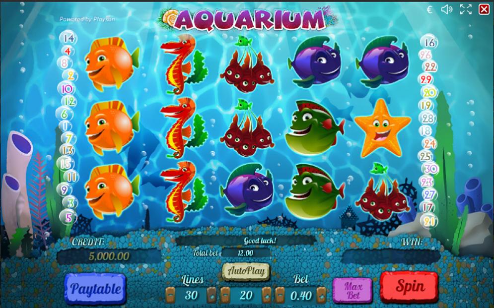 aquarium gameplay