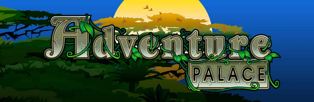 Adventure Palace Logo Slot Game