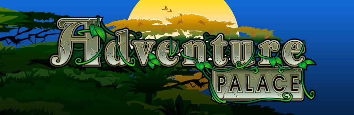 Adventure Palace Logo Slot Game