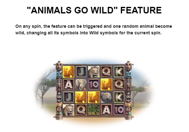 Africa Goes Wild Bonus