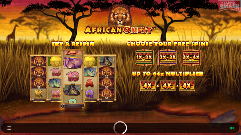 African Quest Slots Casino
