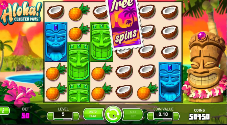 Aloha! Slots Game gameplay