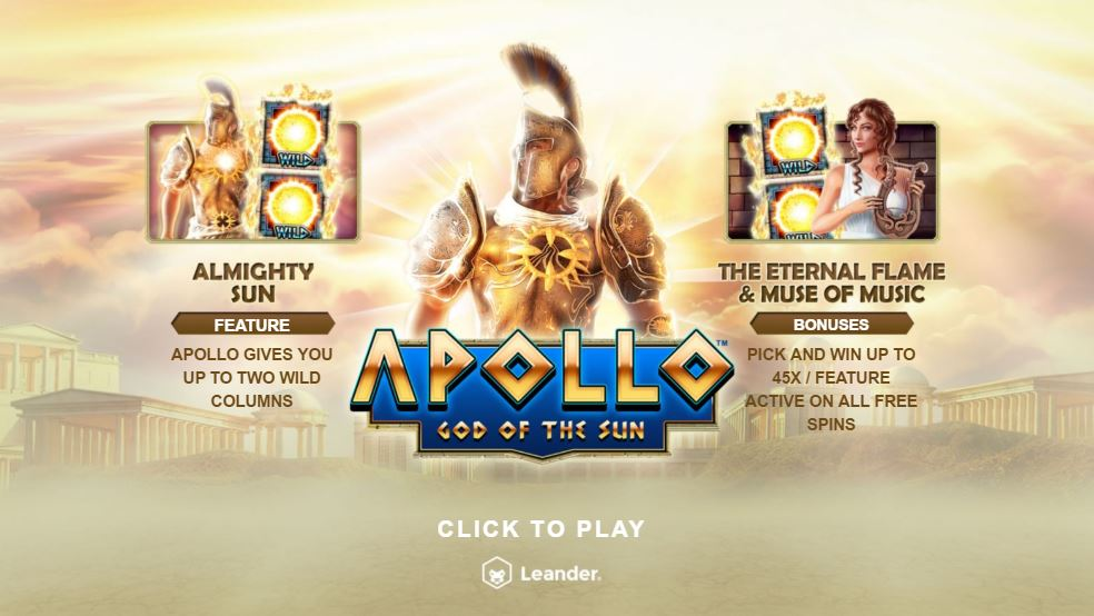 Apollo God of Sun Gameplay