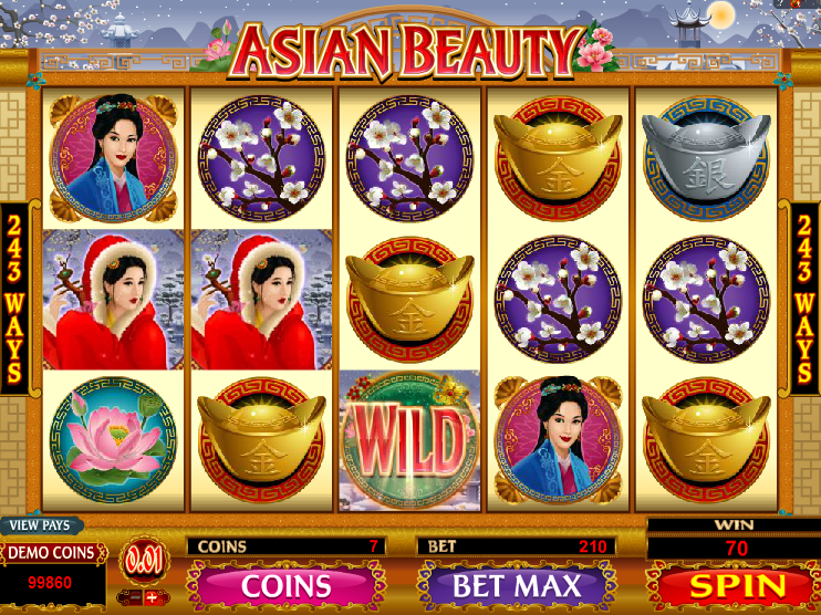 Asian Beauty Slot Game Gameplay