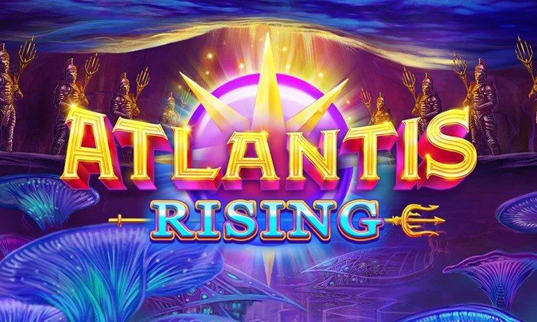 Atlantis Rising Slot Banner