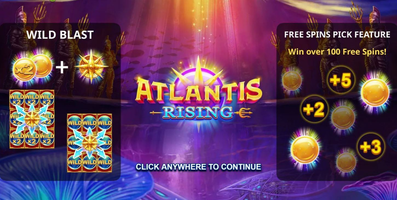 Atlantis Rising Slot Bonus