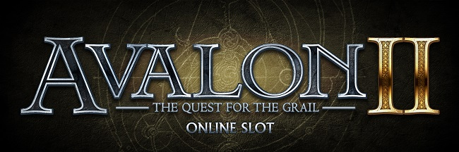 Quest For The Grail Slots game logo