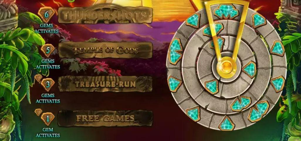 Aztec Expedition Thundershots Slot Bonus