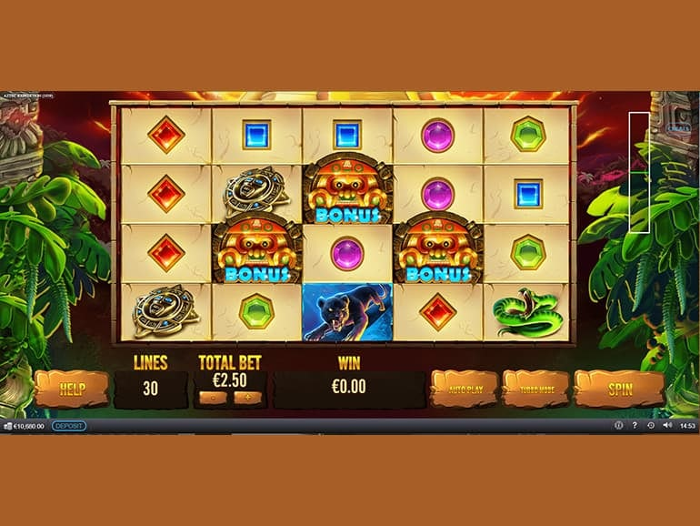 Aztec Expedition Thundershots Slot Gameplay