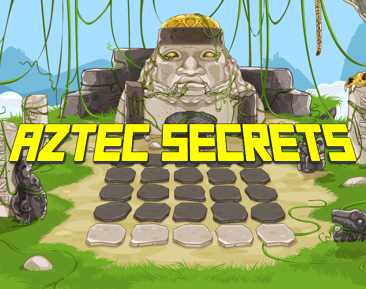 Aztec Secrets Slot Game Logo
