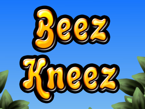 Beez Kneez slots game logo
