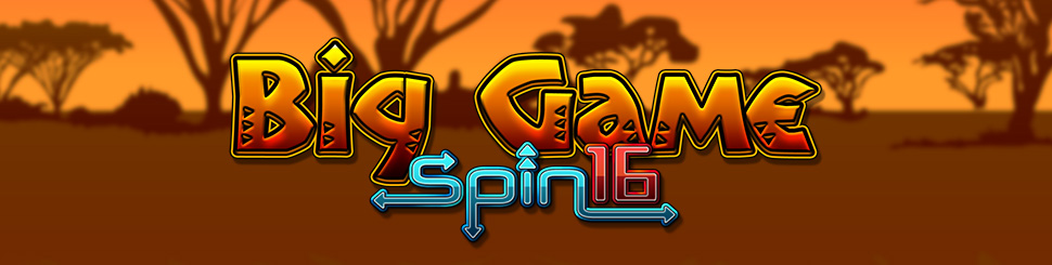 big game spin 16 slots game logo