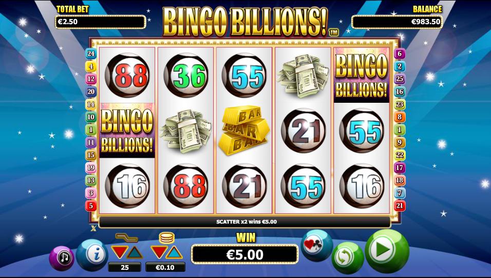 Bingo Billions Gameplay