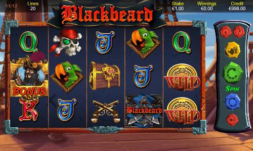 Blackbeard Slot Game Info