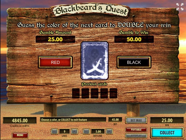 blackbeard's quest bonus