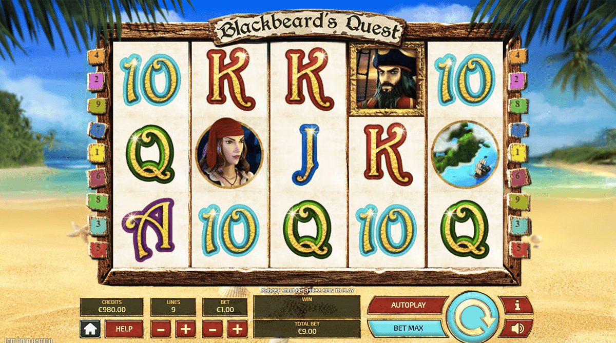 blackbeard's quest gameplay